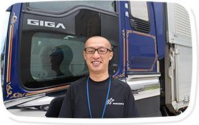 10t大型トラックドライバー(岡山エリアへの貸切輸送)