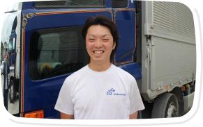 10t大型トラック 長距離ドライバー(九州方面への貸切輸送)